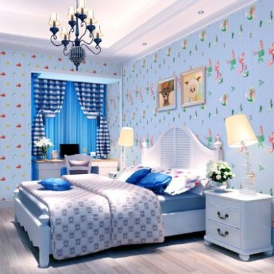 Trendy Wallpaper for Kids Room