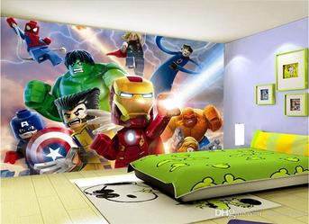 Iron Man Design Wallpaper Fixing Dubai