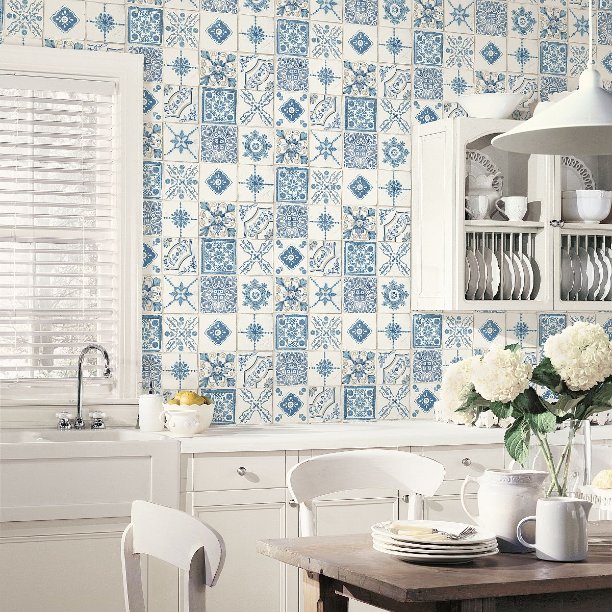 Trendy Kitchen Wallpaper Dubai